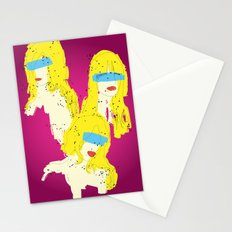 3 Woman Stationery Cards