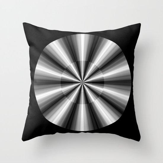Ten Silver Pointers Throw Pillow