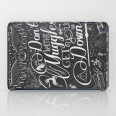 Don't let the Muggles get you down iPad Case