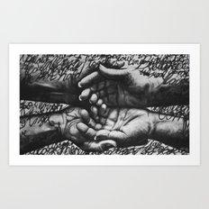 Held Memories Art Print