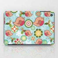 Xmas Robins iPad Case