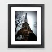 La Tour Eiffel Framed Art Print