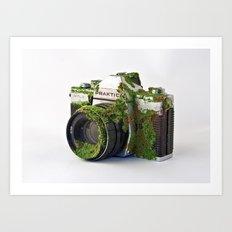 After We've Gone. Camera Uno Art Print