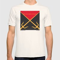 No060 My ELEKTRA minimal movie poster Mens Fitted Tee Natural SMALL