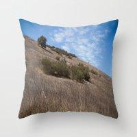 A Field Summer Throw Pillow