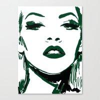 Ink Illustration Canvas Print