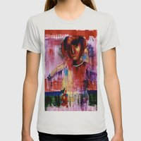 Pulse  Womens Fitted Tee Silver SMALL