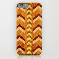 Wood Inlaid Chevrons iPhone 6 Slim Case