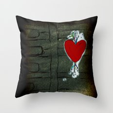 Love Malfunction Throw Pillow