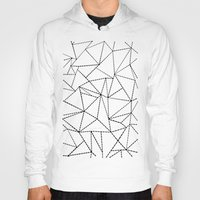 Ab Dotted Lines B on Grey Hoody