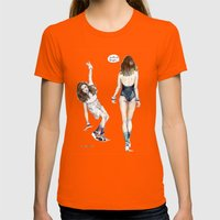Sucks To Be Your Womens Fitted Tee Orange SMALL