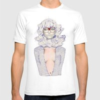 Hair Play  Mens Fitted Tee White SMALL