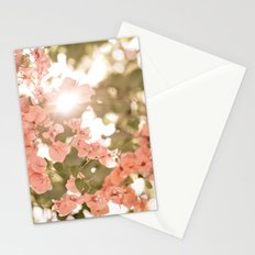 The finish afternoon Stationery Cards