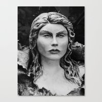 Bust Of Psyche Canvas Print