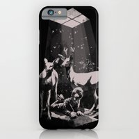 iPhone & iPod Case featuring Deer Dad by SPYKEEE