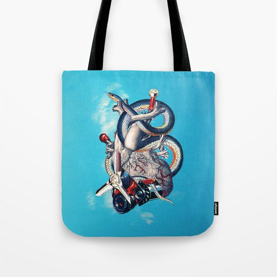 Heart of Illuminati Tote Bag