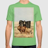 Dracula's Bitches Mens Fitted Tee Grass SMALL