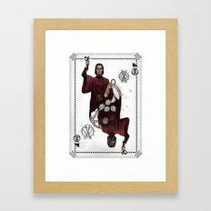 King of Scissors Framed Art Print
