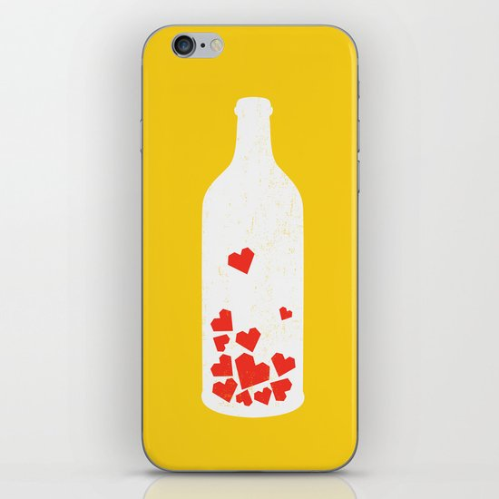 Message in a bottle iPhone & iPod Skin