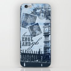Anglophile Love iPhone & iPod Skin