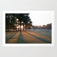 Willow Lake Golf Course … Art Print