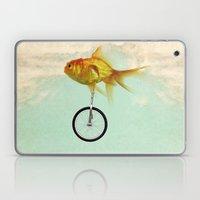 unicycle gold fish -2 Laptop & iPad Skin