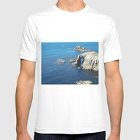 Cornwall Mens Fitted Tee White SMALL