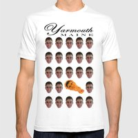 Yarmouth, MAINE Mens Fitted Tee White SMALL