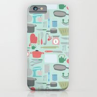 Kitchen Pattern iPhone 6 Slim Case