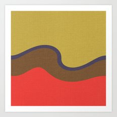 Wind Wave Art Print