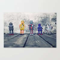 Identity Parade Canvas Print