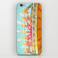 Spinning Cars iPhone & iPod Skin