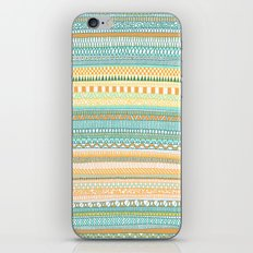 Mad Scribbles (coloured version) iPhone & iPod Skin