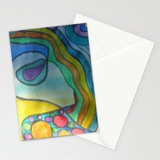 Fear of Being Really You Stationery Cards
