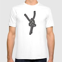 Why Not? Mens Fitted Tee White SMALL