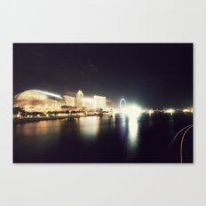 the other side of singapore Canvas Print