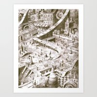 A Quiet Afternoon in Tilhil Art Print