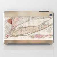 1842 Mather Map Of Long … iPad Case