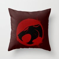 Thundercat Throw Pillow