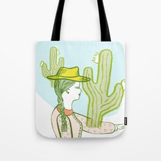 Westward Ho! Tote Bag
