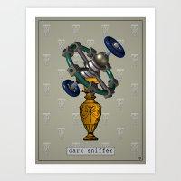 Dark Sniffer Art Print