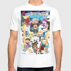 ULTIMATE MARVEL VS CAPCOM 3 ROBOTICS SMALL Mens Fitted Tee White