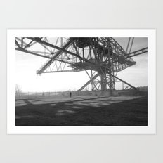 Coal Mine Art Print
