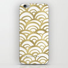 Gold Scallop iPhone & iPod Skin