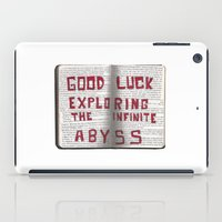 Good Luck Exploring The … iPad Case