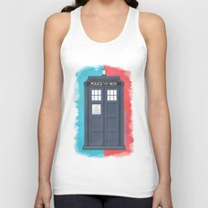 10th Doctor - DOCTOR WHO Unisex Tank Top