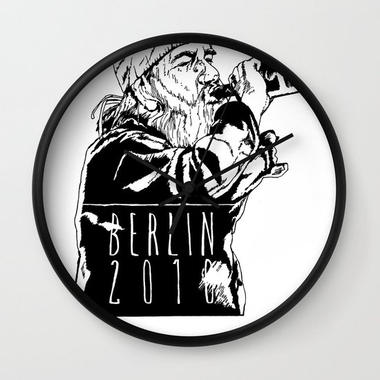 BERLIN 2010 Wall Clock