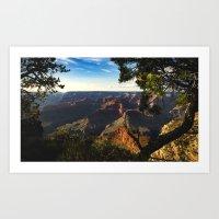 Grand Canyon National Park - Sunset Art Print