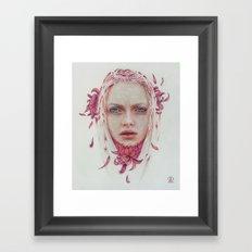 Coraje Framed Art Print