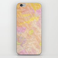 Abstract Painting On A S… iPhone & iPod Skin